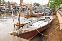 Fiskare Village Arkivbilder