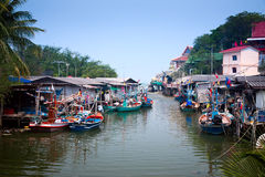 fiskareby Arkivfoto