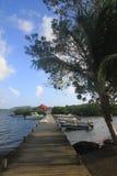 Fiskarefartyg - Martinique - karibisk FWI - Arkivbilder