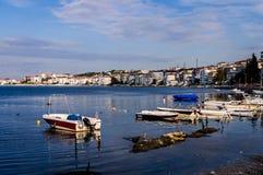 Fiskarefjärd av Yalova Turkiet Royaltyfri Foto