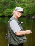 fiskarefluga Royaltyfri Fotografi
