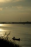 fiskarekongflod Arkivfoton