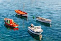 Fiskareleksaker royaltyfri fotografi