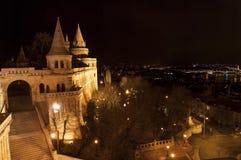 Fiskares bastion, Budapest, Ungern Arkivbild