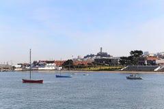 Fiskares hamnplats Royaltyfri Fotografi