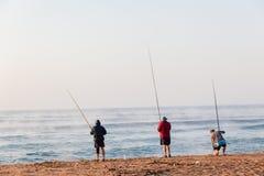 Fiskarestrandferier Royaltyfri Fotografi
