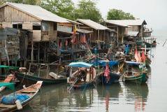 fiskareutgångspunkt Arkivfoton