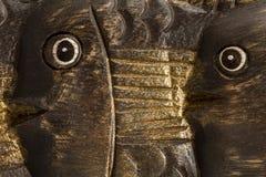 Fiskbakgrundsabstrakt begrepp Arkivfoto