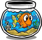 fiskbehållare Royaltyfri Foto