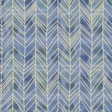Fiskbensmönstermodell med utdragen sömlös bakgrund för hand av vattenfärgen Vektorillustration för mode och textiltryck stock illustrationer