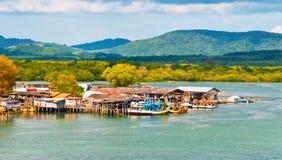 Fiskburar. Phuket Thailand Royaltyfri Foto