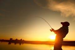fiske arkivbild