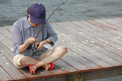 fiske Arkivfoton