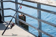 Fiske Pole royaltyfria foton