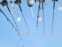Fiske Poles Royaltyfria Bilder