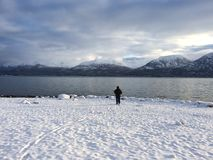 Fiske sjö Clark Arkivfoton