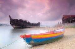 Fiskebåt Royaltyfria Foton