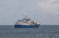Fiskebåt Royaltyfri Foto