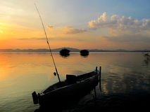 Fiskebåt Arkivbild