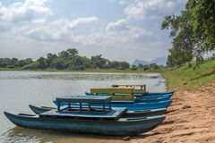 Fiskebåt på Sri Lanka Royaltyfri Fotografi