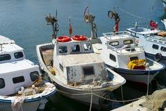 Fiskebåtar Royaltyfri Fotografi