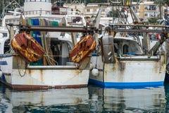 Fiskebåtar Arkivfoton