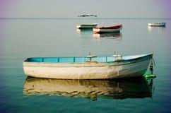 Fiskebåtar Arkivfoto