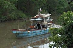 Fiskebåtar i Pedregal Royaltyfri Bild