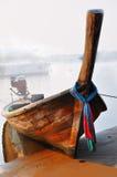 Fiskebåtar Krabi - Thailand Arkivbild