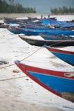 Fiskebåtar Vietnam royaltyfri foto