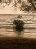 Fiskebåtavvikelse Arkivfoton