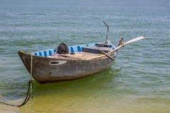Fiskebåten Arkivbild