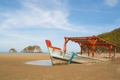 Fiskebåten sjönk Royaltyfria Bilder
