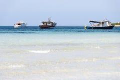 Fiskebåtar Fotografering för Bildbyråer