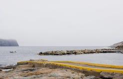 Fiskehamnplats Royaltyfri Fotografi