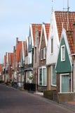 Fiskeläge av Volendam i Holland Arkivbilder