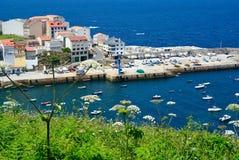 Fiskeläge i spanskt litoralt Royaltyfria Foton