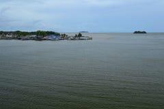 Fiskeläget Fotografering för Bildbyråer