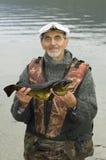 fisken hands hans Royaltyfri Fotografi