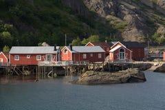 fiskenorrmanwharfs Royaltyfria Bilder
