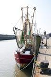 Fiskeport Cuxhaven Arkivfoton