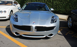 Fisker karma front end Royalty Free Stock Images