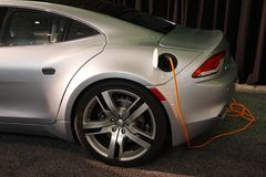 Fisker Karma - luxury hybrid car Royalty Free Stock Image