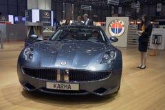 Fisker Karma Plug-in Hybrid Royalty Free Stock Image