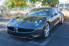 Fisker Karma at the Supercar Sunday Electric Vehicles Royalty Free Stock Photos