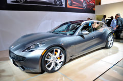 Fisker Surf on IAA Frankfurt 2011 Stock Photos