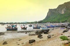 fiskerifartyg Arkivfoto
