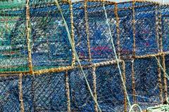 Fiskeskåp royaltyfri bild