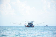 Fiskeskyttlar - CuLao Cham ö Royaltyfri Bild
