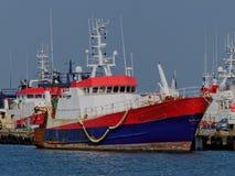 Fisketrålare Fotografering för Bildbyråer
